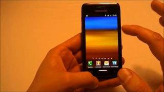 Samsung Galaxy W I8150 Unboxing and Check