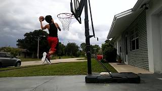 WOW! | 11- YEAR OLD DUNKS | SLAM DUNK PT.2 | BASKETBALL |