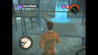 Saints Row 2 (2009) - Co-Op Playthrough - Missioni Saints - Fuga di Prigione (HD) ITA