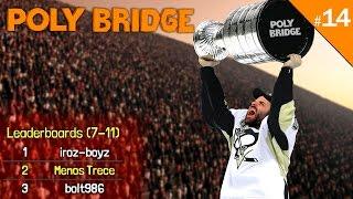 ME MARCO TOP2 MUNDIAL!!! | POLY BRIDGE Gameplay Español