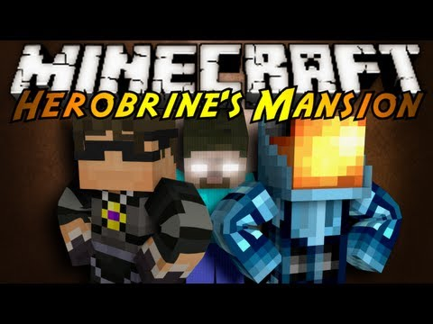 Minecraft: Herobrine's Mansion Part 1!