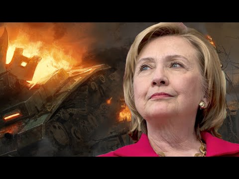 Hillary Clinton Wants War, Lots Of It & That's Why She's Running