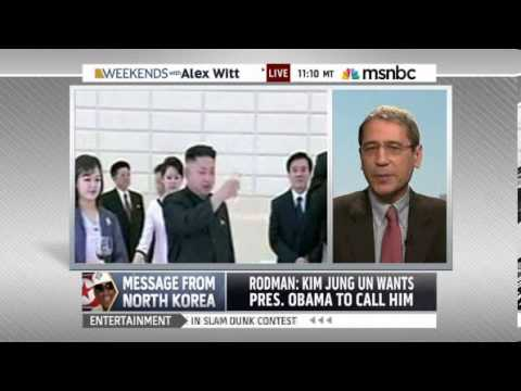 Rodman RETURNS with message of peace from North Korea