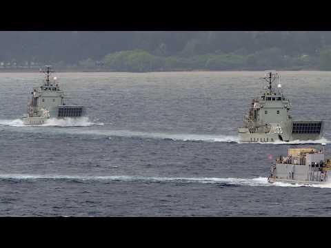 Philippine Navy Landing Class Heavy Ships from Australia