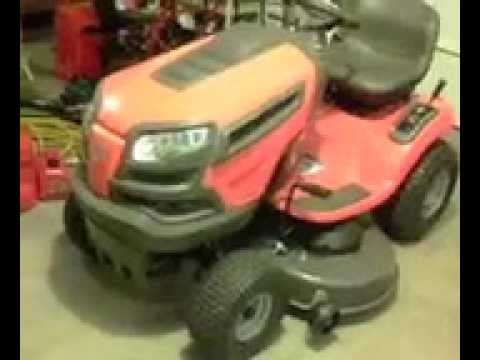 Husqvarna YTH22V46 22 HP VTwin Hydrostatic 46-in Riding Lawn Mower with Briggs &
