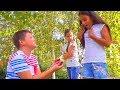 ЛЮБОВЬ или ДРУЖБА?? Мост для ВЛЮБЛЁННЫХ Рома ПОХУДЕЛ На 10 кг kids children super girl