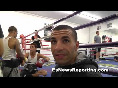 floyd mayweather how he works out sid el harrak talks to esnews