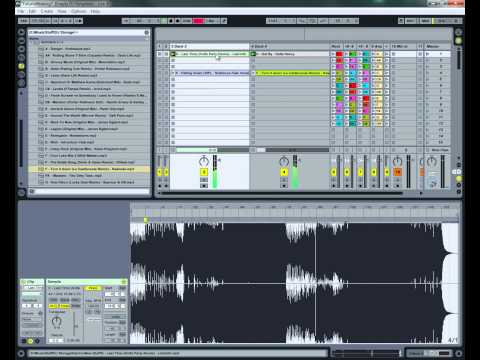 Ableton DJ Tutorial: Mixing Between Dubstep and Electro House