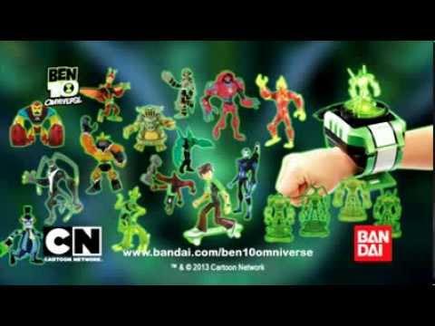 Ben 10 omniverse alien collection figures and omnitrix shuffle youtube - Ben 10 tous les aliens ...