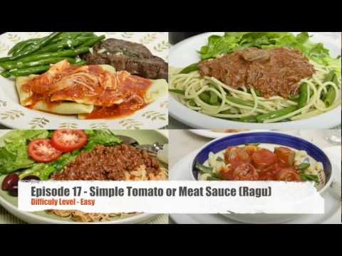 Episode 17 – Easy Low Sodium, Homemade Southern Italian Tomato Sauce & Ragu