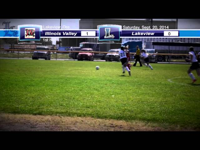 LHS girls soccer highlights: Illinois Valley vs. Lakeview 9-20-2014