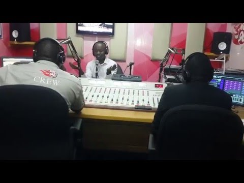 THE HOT BREAKFAST SHOW ON HOT 96FM KENYA ON MAY 5 2016 MORNING