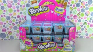 Full Box of Shopkins Season 1 2 packs Hunt for Limited Edition Episode 1 of 3