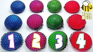 💗 Learn Numbers with Squishy Balls for Preschool and Toddlers