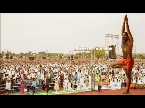 Kota: 100 world records to be created on International Yoga Day | News India | Baba Ramdev