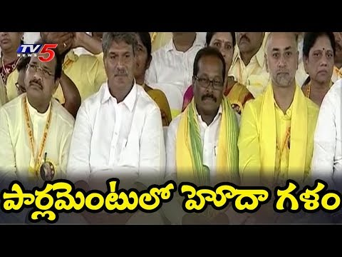 TDP Intensifies Fight Against Centre Over Special Status For Andhra Pradesh | TV5 News