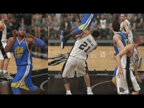 NBA 2K14 My Career Over Tim Duncan S2CFG3 PS4