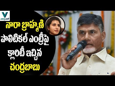 CM Chandrababu Gives Clarity on Nara Brahmani Political Entry - Vaartha Vaani