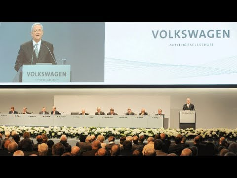Volkswagen trotz Krisenstimmung in Europa weiter auf Erfolgskurs