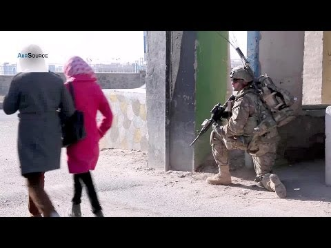 US Army - Security Patrol in Afghanistan