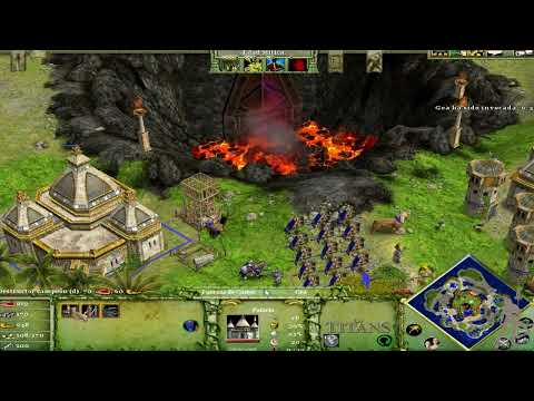 Age of Mythology  The Titans - Parte 12 - Guerra de los Titanes