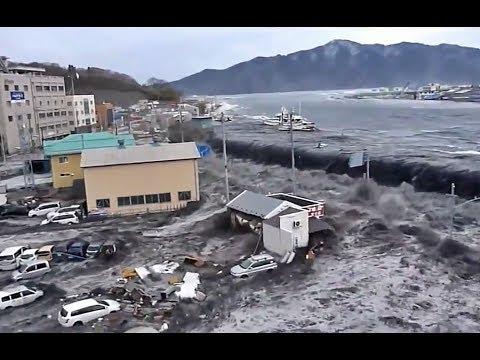 Tsunami No Japão - Miyako City Hal 【日本における津波】HD
