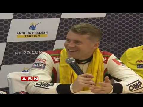 F1H2O World Championship final winner Press meet LIVE | Vijayawada