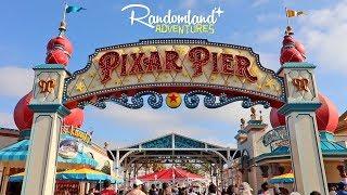 PIXAR PIER is NOW OPEN! + Tiki Room 55th Anniversary at Disneyland!!