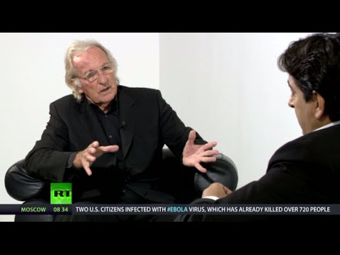 Going Underground: John Pilger talks Gaza, Ukraine & Western media bias