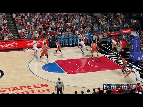 NBA 2K16 Oklahoma City Thunder Vs Los Angeles Clippers 22-12-2015
