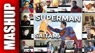 Saitama (One Punch Man) vs Superman | Arcade Mode Episide Reactions Mashup