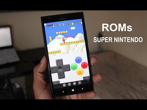 Como importar ROMs para emulador de Super Nintendo Windows Phone!