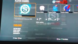 black ops 2 how to steal emblems ps3/Xbox