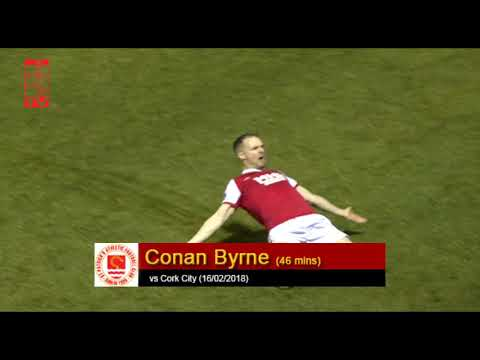 Goal: Conan Byrne (vs Cork City 16/02/2018)