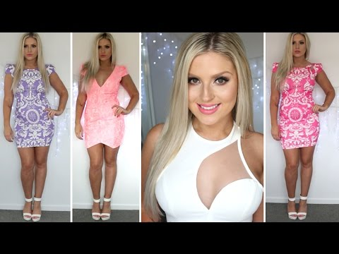 MissHolly Clothing Haul! ♡ Clubbing Dresses & Outfits!