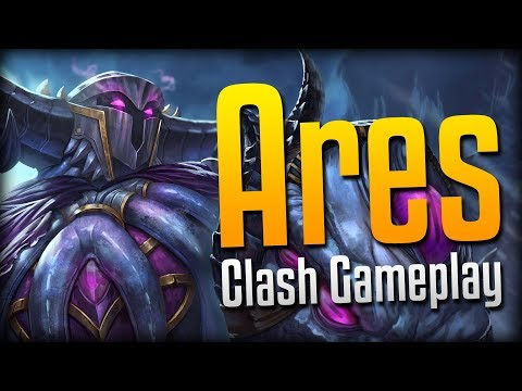 Smite: DOUBLE ARES ULTIMATE!- Abyssal Knight Ares Clash Gameplay