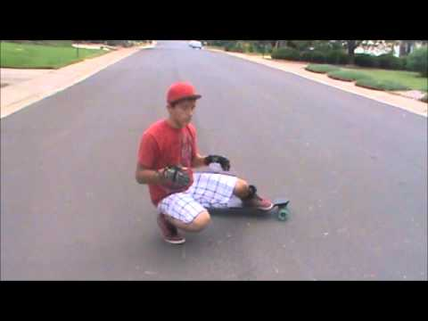 Longboard Power Slide Tutorial