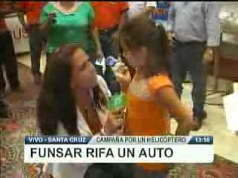 FUNSAR REGALA UN AUTO @ RED PAT BOLIVIA