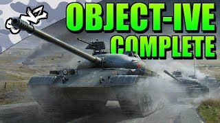 OBJECT-IVE COMPLETE (Object 140 Gameplay) - World of Tanks Console | Guest Replay