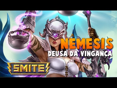 SMITE BRASIL - NÊMESIS Deusa da vingança! BUILD + GAMEPLAY!