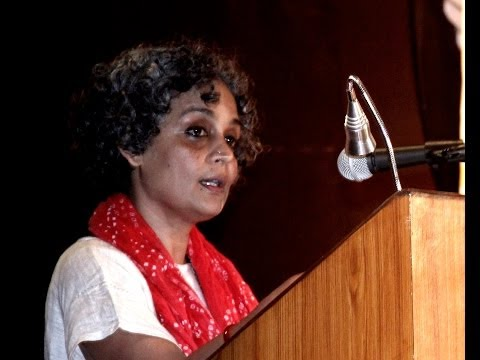 Arundhati Roy on Dr B R Ambedkar & Mahatma Gandhi - Pt 1 of 3