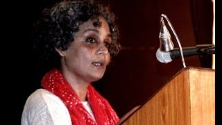 Arundhati - Arundhati Roy on Dr B R Ambedkar & Mahatma Gandhi - Pt 1 of 3