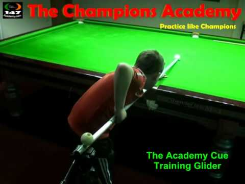 Snooker Coaching in the PJ Nolan Training Academy