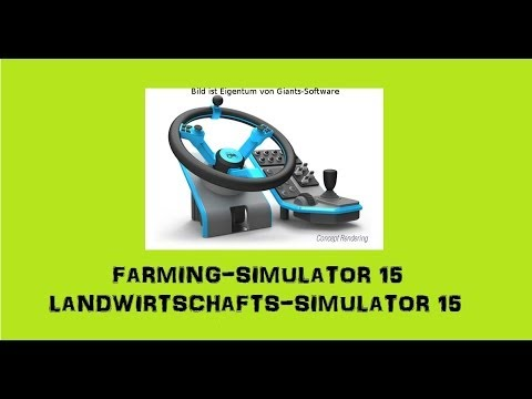 farming simulator 15 angek nigt giants lenkrad f r ls. Black Bedroom Furniture Sets. Home Design Ideas