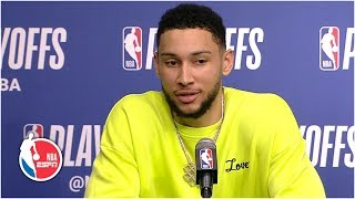 Ben Simmons on Sixers' scuffle with Nets: 'We won' | 2019 NBA Playoffs
