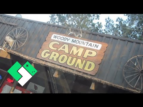 CAMPING AT WOODY MOUNTAIN CAMPGROUND (7.6.13 - Day 463)