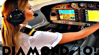 FIRST SOLO FLIGHT Diamond 40 Aircraft | Arizona ✔