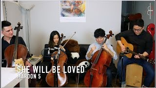 Download Lagu SHE WILL BE LOVED | Maroon 5 || JHMJams Cover No.220 Gratis STAFABAND