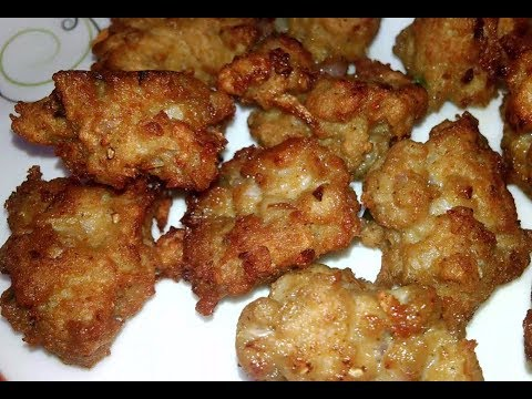 Chicken Mince Pakoda/Chicken Keema Pakora/Qeema Pakoda (COOKING WITH HADIQA)