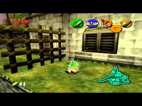 Walkthrough FR l Zelda Ocarina Of Time l 2ème Flacon